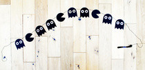 Pacman Halloween Garland