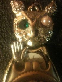 Owl Steampunk Pendant