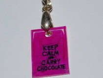 "Necklace ""Keep Calm And ..."""