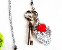 Vintage Key Pendant