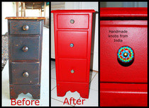 Diy Upcycled Side Dresser 
