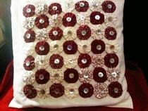 Suffolk Puff Cushion Cover