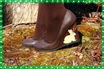 Flocked Jackalope Shoes