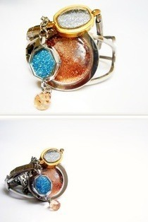 Upcycled Glitter Jewelry