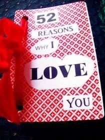 52 Reasons Why I Love You Book :)