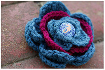 Crochet Spring Time Flower