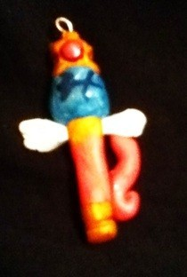 Sailor Doodle's Wand Charm 