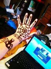 Spider Henna