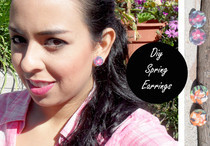 Diy Spring Earrings