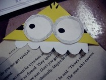 Diy Minion Corner Bookmark