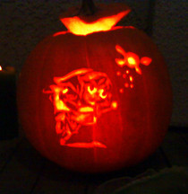 Link Pumpkin Carving