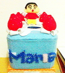 Shinchan Cake Tissue Box