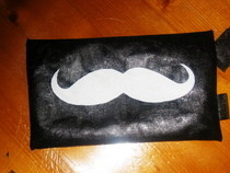 Moustache Pencil Case :D