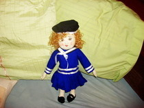 Shirley Temple Cloth Doll