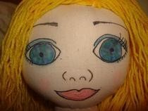Alice In Wonderland Cloth Doll