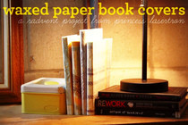 Waxed Paper Book Covers