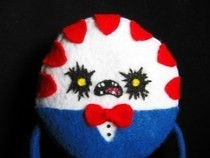 Evil Peppermint Butler Plushie