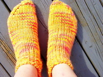 Bulky Weight Knit Socks