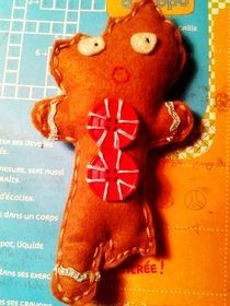 Half Eaten Gingerbread Man