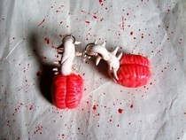Brain & Spine Earrings