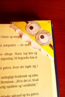 Diy Despicable Me Minion Bookmark