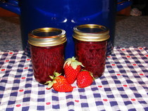 Berry Jam And Strawberry Butter
