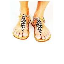 Diy: Gold Leopard Sandles