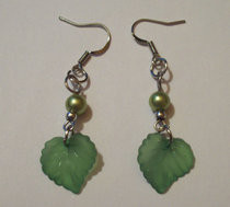 Elf Maiden Leaf Earrings