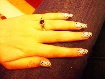 Cute Dotty Nails