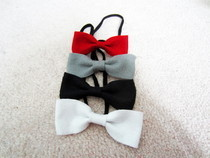 Felt Bows On Elastics