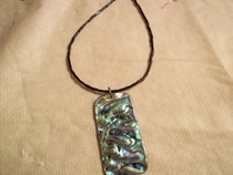Abalone Rectangle Necklace