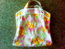 Summer Tank Top  Transformed To  Super Trendy Handbag