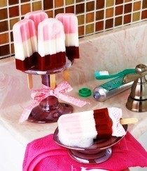 Neapolitan Soap Pops