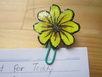 My Paper Clip Grew A Flower!