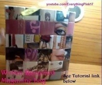 Recycled Magazine Bag Diy