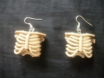 Rib Cage Earrings