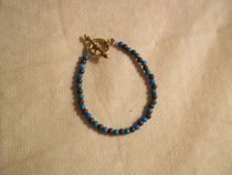 Turquoise And Brown Bracelet