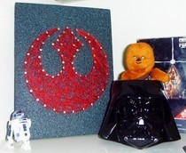 Rebel Alliance String Art