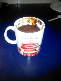 5 Minute Chocolate Mug Cake!.
