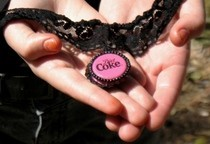 Diet Coke Bottlecap Choker