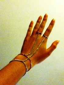 ~Chain Hand Harness~