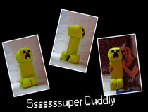 Big Creeper Plushie