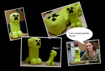 Tiny Creeper Plushie!