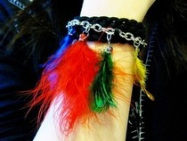 Feather Bracelet 