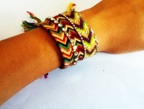 ~Friendship Bracelet Cuff~
