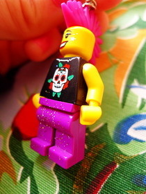 Glam Punk Lego Necklace