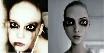 Alice Liddell's Insane Asylum Makeup