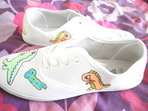 Dinosaur Shoes :)
