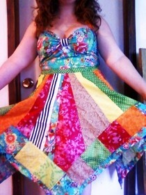 Patchwork Dress