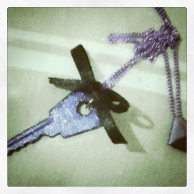 How to make a key pendant. Key Necklace - Step 6